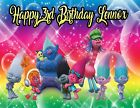 Trolls Personalized Edible Print Premium Cake Topper Frosting Sheets 5 Sizes