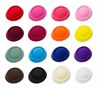 """6 1/2"""" Oval Pillbox Stewardess Fascinator Millinery Hat Base Comes in 16 Colors"""