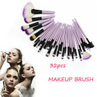 32pc Purple Professional Soft Cosmetic Eyebrow Shadow Makeup Brush Set +Bag Case <br/> 3 DAY SALE !! BIG PROMOTION !! HIGH QUALITY !!