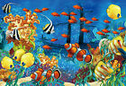 CHOIS Custom Films CF3008 Tropical Fishes Ocean Glass Window Privacy Frosted Art