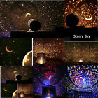 Amazing LED Cosmos Star Master Sky Starry Night Projector Light Lamp Kids Gifts