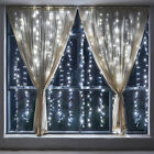 curtain light - Lifewit 9.8ftx9.8ft 600 LED String Fairy Wedding Curtain Lights Christmas Decor