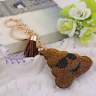 Creative DDiamond Plated Face Expression Style Keyring Key Chains Car Keychain S
