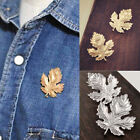 Trendy Clothes Accessories Leaf Brooch Pins Chic Vintage Brooches Scarf Buckles
