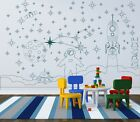 Art Wall Stickers Decoration Decal Vinyl Decor Space boys Whiteboard Wallpaper