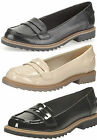 Ladies Clarks Loafers Shoes - Griffin Milly