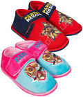 Paw Patrol Velcro Slippers - Chase Marshall Rubble Skye Pups