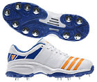 2017 adidas Howzat Full Spike II White Cricket Shoes Size UK 6 7 8 9 10 11 12 13