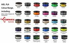 PLA 3D Printer Filament 1.75mm / 3.00mm Quality Torwell 1kg 19 colours reprap