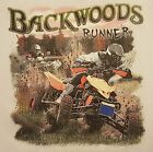 AMERICAN OUTFITTERS BACKWOODS RUNNER 4 WHEELERS RACING #350 POCKET SHIRT