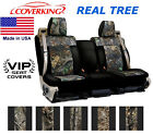 Coverking Real Tree Camo Custom Seat Covers for Nissan Titan