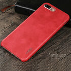 X-Level Vintage PU Leather Slim Back Phone Case Cover For iPhone 5 6S 7 Plus