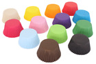 Coloured High Quality Paper Cupcake / Muffin Baking Cases - 12, 36, 72, 180 pack