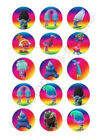 Trolls Edible Print Premium Cupcake/Cookie Toppers Frosting Sheets 2 Sizes