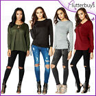 Hoodie Top Lace Up Front Hoody Club Wear Clubbing Jumper Womens Ladies Size ❤