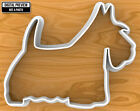 Scottish Terrier Dog Cookie Cutter, Selectable sizes