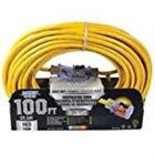 Cord Ext 14/3sjtow X 100ft Yel