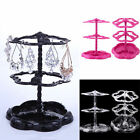 Retro 72 Holes Earring Ear Stud Stand Holder Jewelry Display Show Organizer Hot