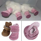 Lovely Winter Warm Pet Dog Shoes Anti SMip Snow Boots For Small Pet PuppySM
