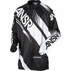 A17 ANSR JERSEY SYNCRON 2017 BLACK/WHITE RACEWEAR MOTOCROSS ANSWER MX