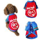 Pet Clothes Dog Puppy Warm Coat Winter Sweater Smile Face Cute Costume Apparel