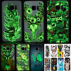 Luminous Soft Rubber Case Cover Fluorescence TPU Skin Shell For Samsung Galaxy