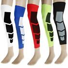 1pc Basketball Cycling Compression Leg Knee Calf Long Sleeve Protect Gear Wrap