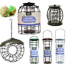 FAT BALL FEEDER - 90g Fatball Holder Wild Bird Hanging Metal Donut Suet kf Pet k