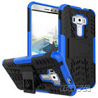 Hybrid Shockproof Stand Cover for Samsung LG Apple Phones Rigid Plastic Cover