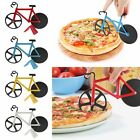 Bicycle Pizza Cutter Dual Stainless Steel Bike Pizza Cutter Kitchen Tools New