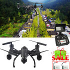 JXD 509G RC Drone FPV 4CH RC 6-Axis Gyro Quadcopter 2MP HD Camera FPV+Batteries