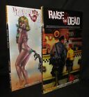 RAISE THE DEAD SET OF 2 HARDCOVER HC SUDYAM COVER HC DYNAMITE FREE SHIPPING