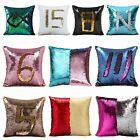 Maigical Reversible Mermaid Pillow Sequin Cover Glitter Sofa Cushion Case Decor