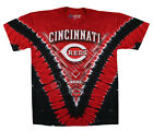 Liquid Blue Cincinnati Reds V-Dye T-Shirt---New w/Tags---