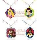 Hot 100pcs Princess Cute Pendant Rope Chain Chokers Necklaces Jerewly Kid Gift