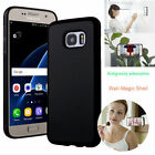 New Anti Gravity Nano Suction Sticky Selfie Phone Case Cover For Samsung iPhone