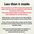 Andy Murray Tennis Player Celebrity Card Mask - Fast Dispatch!