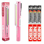 Nebo LiL Larry Lucy Pocket Clip Magnetic LED Work Light 3x Extra AAA Batteries
