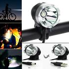 Waterproof T6 USB/DC Port Power LED Bike Cycling Front Light Headlamp Headlight