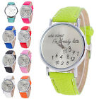 New Fashion Women Watches Leather Watch Letter Watch Black Watch Wholesale FO