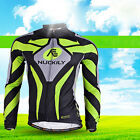 NUCKILY Long Sleeve Men's Cycling Jerseys MTB Road Bicycle Jerseys Jacket Tops
