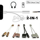 lightning to 3.5mm audio jack chargeur adaptateur splitter pour iphone 7 /7 plus