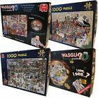 Wasgij Jigsaw Puzzles (1000-Piece) Many To Choose From Mint Cosmetic Condition