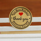 12/60/120pcs Thank You Hand Made with Love Especially for You Stickers Label GTA