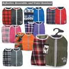 NOREASTER Blanket Dog Coat Reversible Waterproof Reflective WARM USA