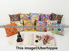 20'' Suzani Embroidered Cushion Cover Pillow Case Indian Ethnic Throw Decor Art