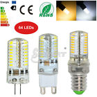 3/4/5/6W G4 G9 E14 3014 SMD Crystal Silicone Corn LED Bulbs Lamp Home Lights