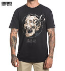 Sullen Bone Filigree Premium Mens Black T Shirt Tattoo Urban Streetwear