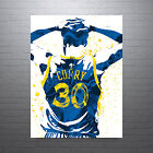 Stephen Curry Golden State Warriors 30 Jersey Poster FREE US SHIPPING on eBay