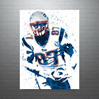 Rob Gronkowski New England Patriots FREE US SHIPPING $30.0 USD on eBay